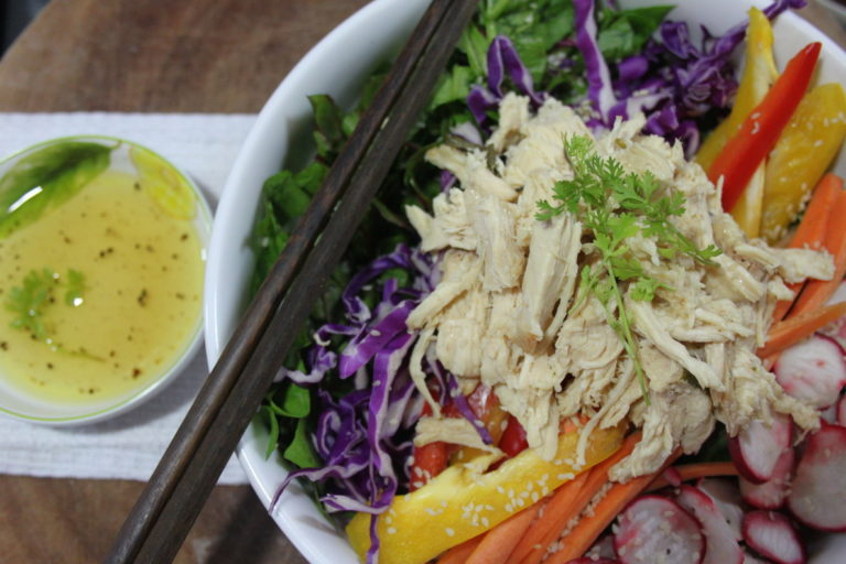 Asian Chicken Salad – a lunch that is easy and tasty!