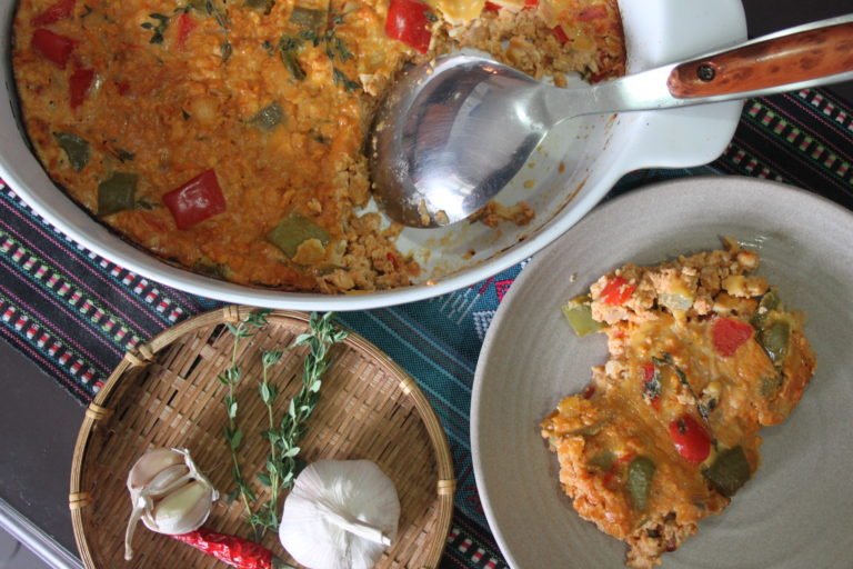 Chicken Chili and Thyme Casserole