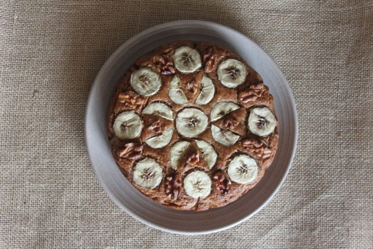 Banana Walnut Cake – a teatime must!