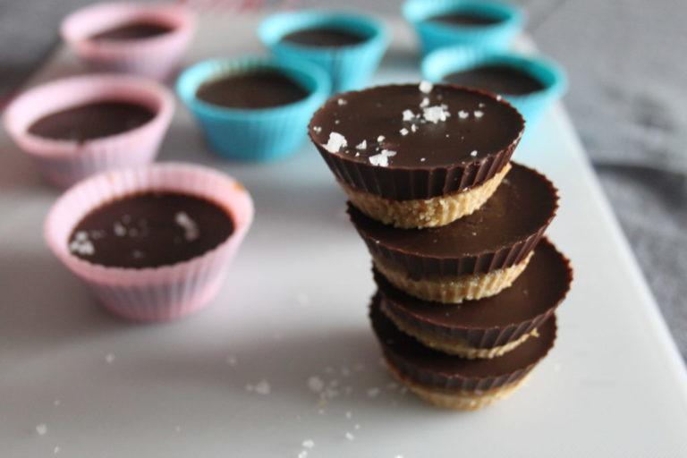 Millionaire Shortbread Cups (paleo and gluten-free)